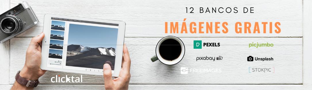 Post-12 bancos de imagenes gratis
